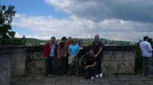 Alineación de The Homens no Castelo de Tübingen