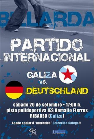 Galiza-Deutschland, rivalidade post sueva