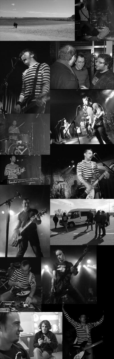 Samesugas e The Homens en Sant Feliu de Guíxols e Barcelona