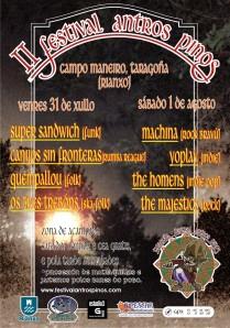 Festival Antros Pinos, Taragoña 1-8-09